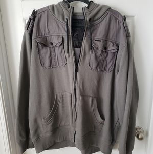 Marc Ecko Cut & Sew 72nd Div Hooded Jacket
